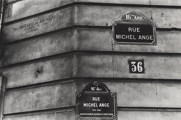 Michel Ange Paris